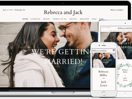 You need a wedding website- Now more than ever!