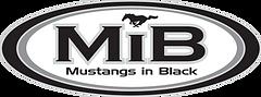 MIB Mustangs in Black