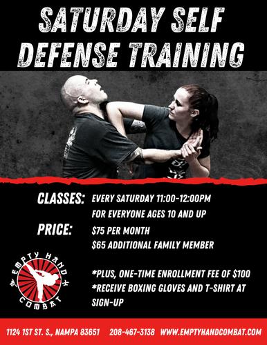 Copy of Copy of Saturday Self Defense Tr