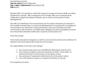ABE, L'assurance des ingénieurs du BTP - Alternance Chargé(e) de communication
