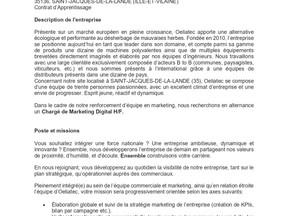 OELIATEC - Chargé de Marketing Digital H/F - ALTERNANCE 2021-2022