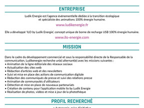 LUDIK ENERGIE Alternance Communication Digital et Partenariats