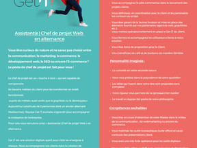 Get iT! recrute un chef de projet Web en alternance