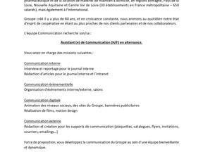 CERP  - Assistant (e) de Communication (H/F) en alternance