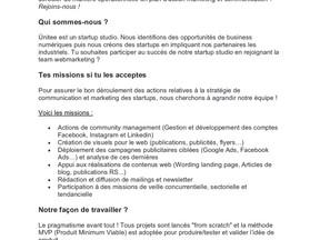 [Ünitee recrute] - Une·e chargé·e de webmarketing opérationnel (alternance septembre 2021)