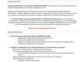 Réseau GRANDEUR NATURE - Alternance Chargé(e) de Marketing et Communication(H/F)