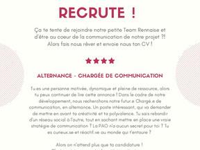 LA PETITE IMPATIENTE recrute   ALTERNANCE - CHARGÉE DE COMMUNICATION