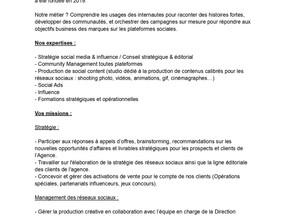Tire-fesses - Alternance Community Management sur Rennes