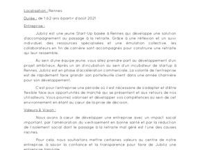 Jubiliz -Alternant Communication/Rédaction (H/F) Contrat pro/contrat d'apprentissage