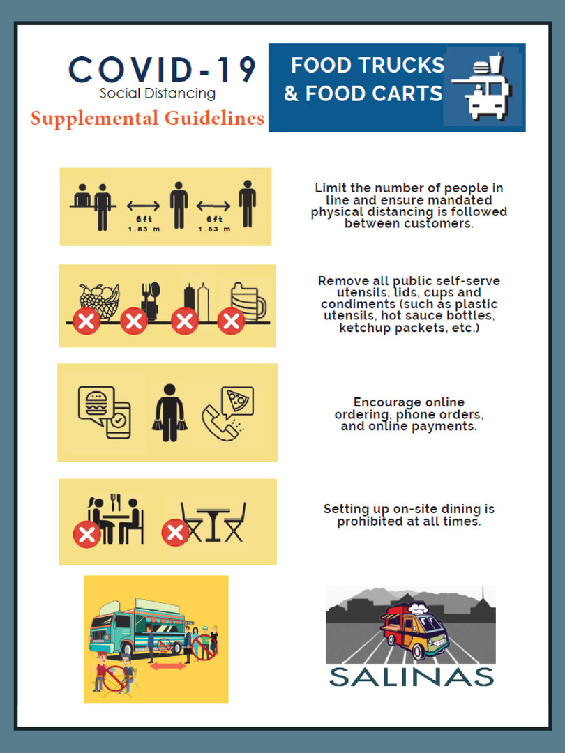 General Guidelines for Food Trucks & Food Carts