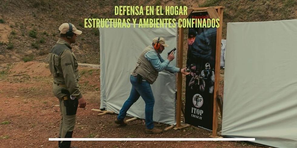 TIRO DEFENSIVO EN EL HOGAR Y AMBIENTES CONFINADOS