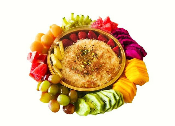 מגש בוטיק פירות משולב כנאפה ביתית
