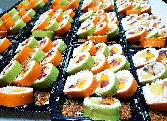 סושי פירות /דואט פירות ושוקולד 40 יחידות