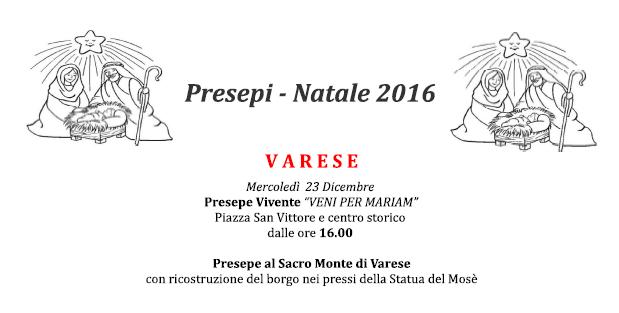 Presepi - Natale 2016