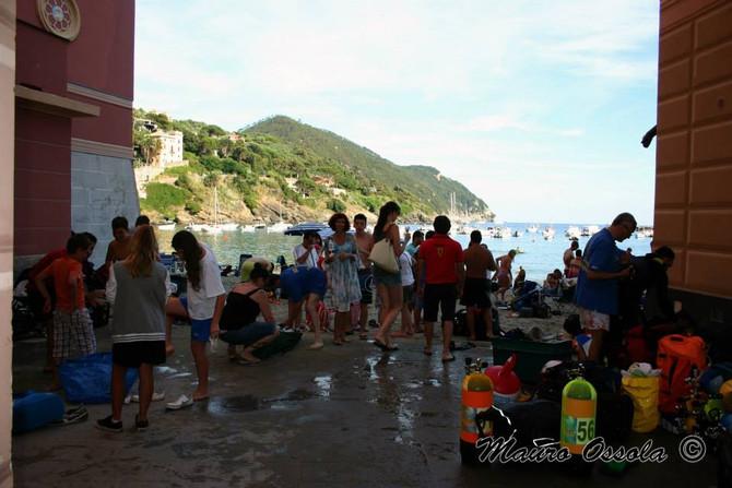 Un grazie speciale a Mauro Ossola per le foto dell'immersione del 27 giugno a Sestri Levante