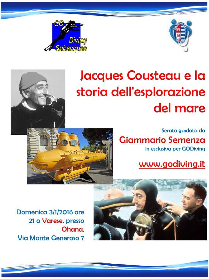 Jacques Cousteau e la storia dell'esplorazione del mare