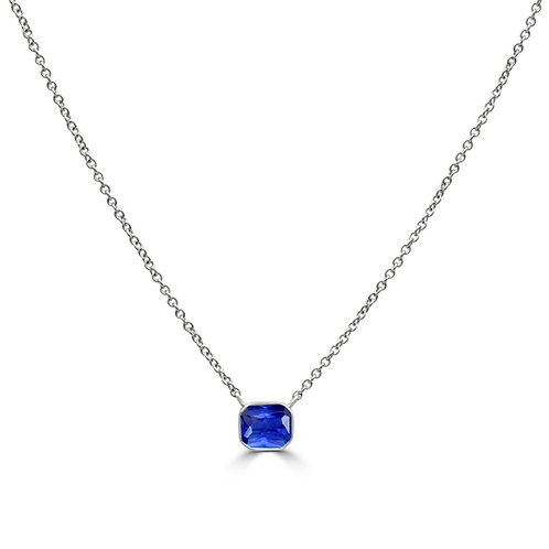 Simple is Beautiful Blue Sapphire