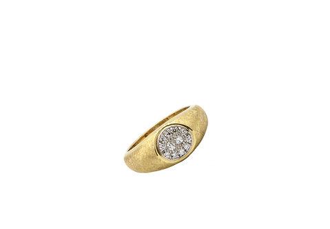 yellow gold, 18K Yellow Gold, Vintage Ring, Estate Ring, Estate Diamond Ring