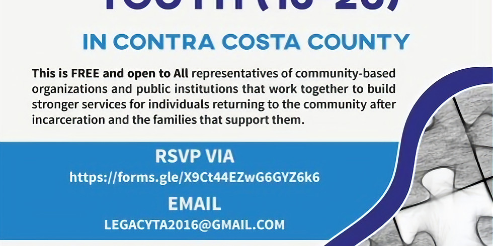 A Look at the Missing Pieces for Transitional Age Youth (16-25) in Contra Costa County