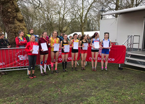 Bea Wood wins major cross country title