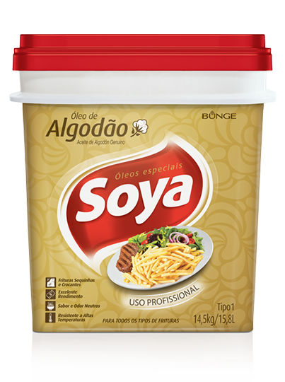 Soya - Food tyling para embalagem