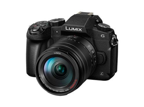 Panasonic Lumix G81+3,5-5,6/14-140 mm P-OIS II schwarz G X Vario-Kit