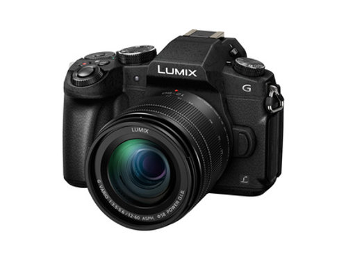 Panasonic Lumix G81+3,5-5,6/12-60 mm ASPH. POWER OIS schwarz G Vario-Kit