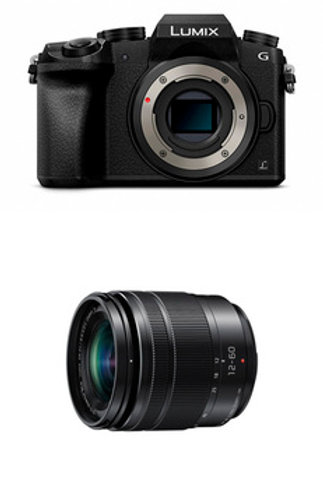 Panasonic Lumix G70+3,5-5,6/12-60mm ASPH Power OIS schwarz G Vario-Kit inkl.16GB