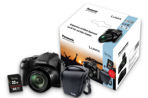 Panasonic DC-FZ83 Special Edition Kamera 1x PH 32 GB Prof.SD Karte/1x PH Tasche