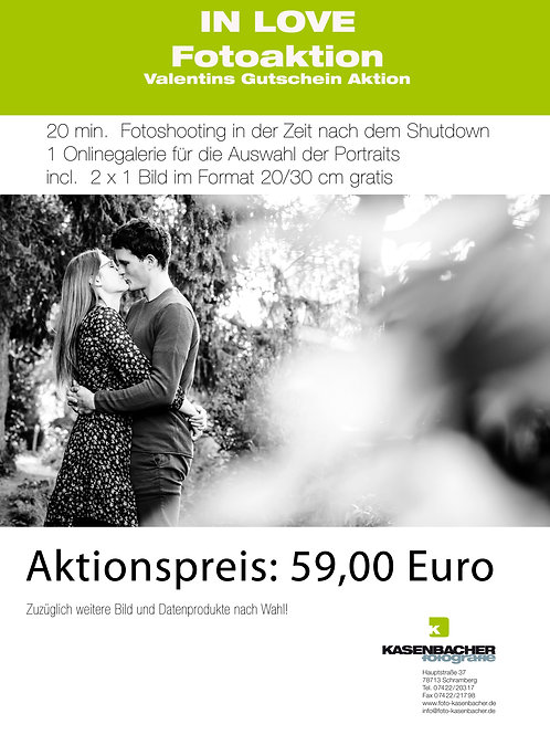 "Valentins Fotoaktion ""In Love"""