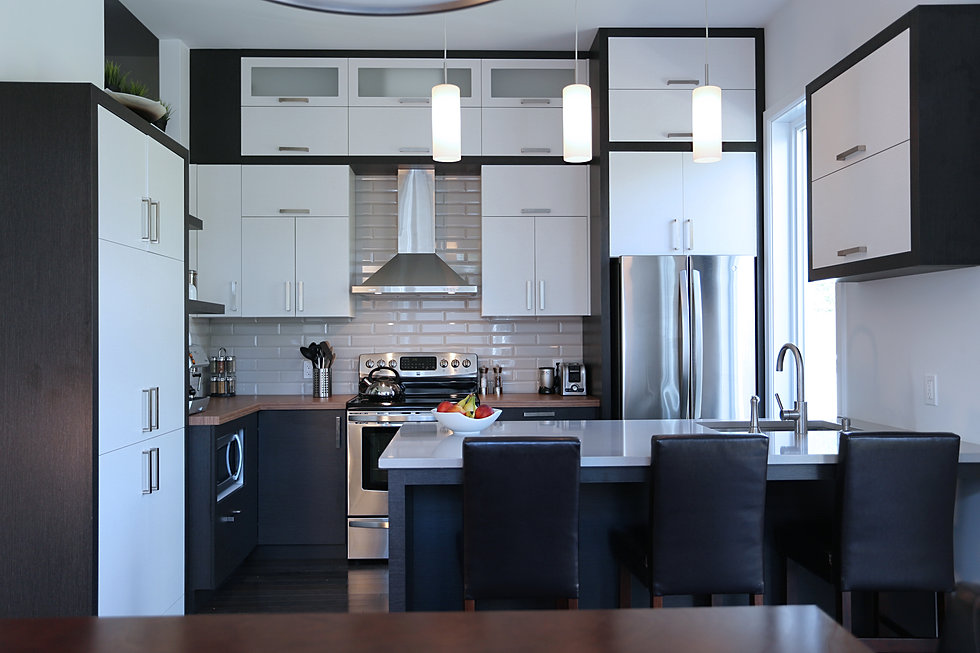 Frameless Modern Kitchen Cabinets Millbrook
