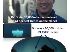 Plastic Found 10,000m Below Sea Level