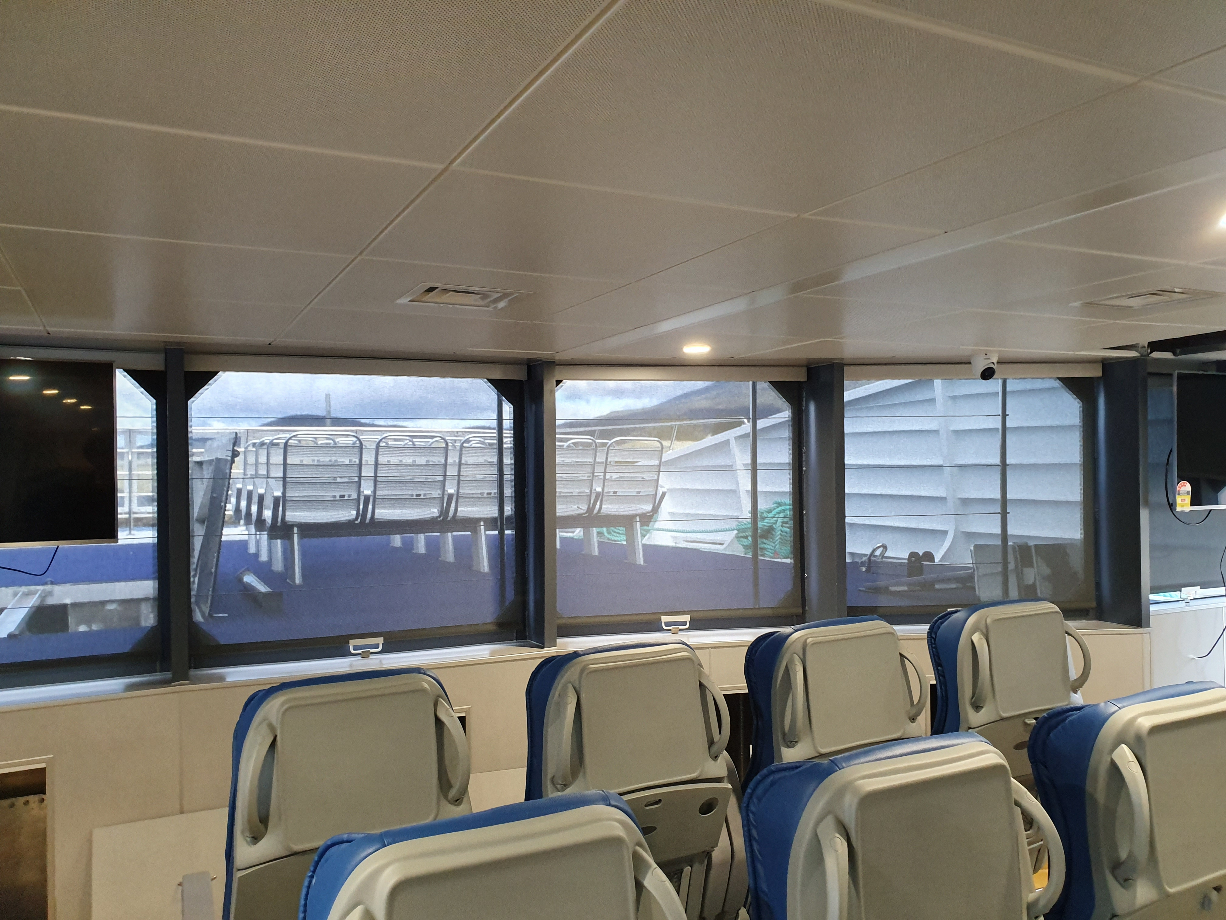 Marine sunfilter roller blinds 2