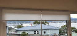 Linked roller blinds in Translucent fabric