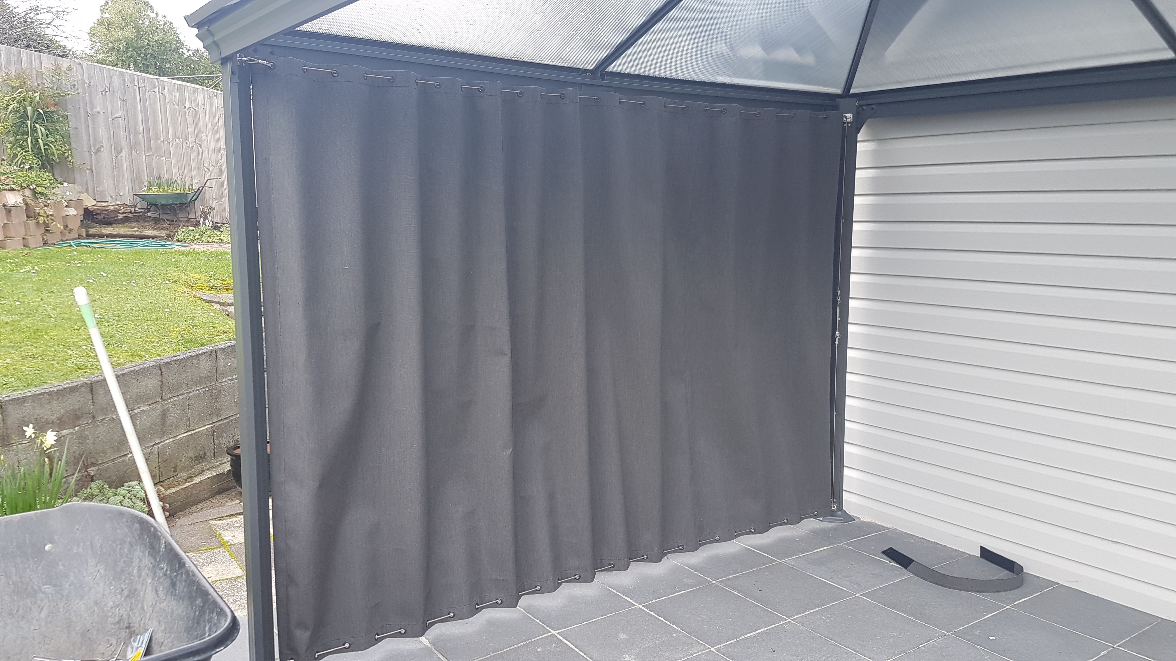 Canvas Curtain Wire Guide