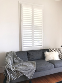Plantation Shutter custom made face fit.
