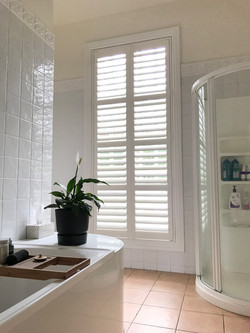 Plantation Shutter PVC suitable for wet