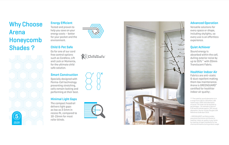 Invest in Honeycomb Blinds Hobart to save $$$ and make your home cosy and comfortable.