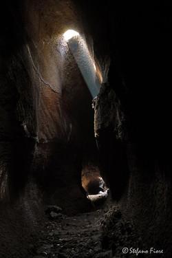 Grotta lavica Etna