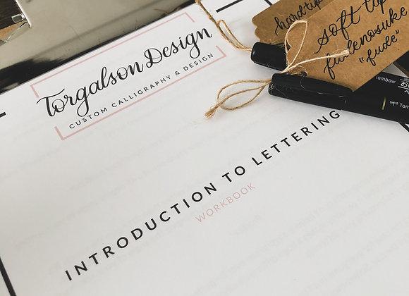 Modern Calligraphy Workbook Bundle