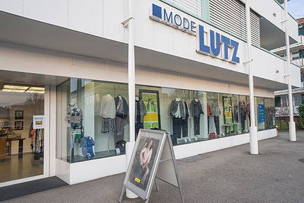 Mode Lutz, Goldach, Schaufenster