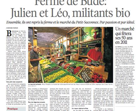 Tribune de Genève 09.2010
