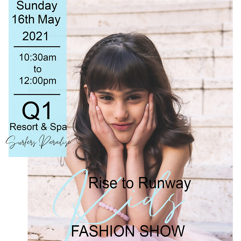 Rise to the Runway Kid's Fashion Show