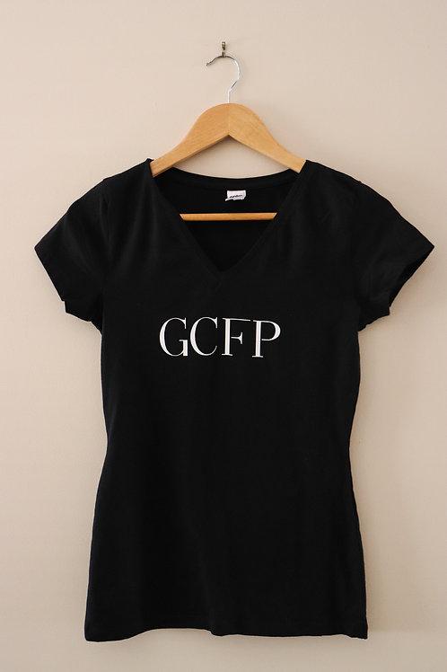 Girl V-neck GCFP Model Team T-shirt