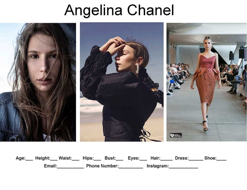 Angelina Chanel comp card example.png