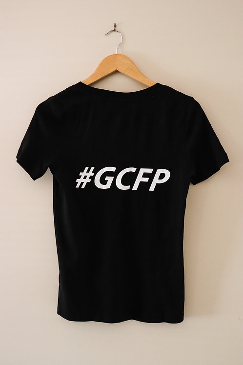 Women  v-neck GCFP T--shirt