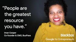 Iman Cooper Blackbox quote Google for En