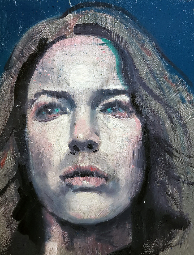 """Portrett i blått"""