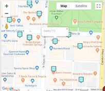 colorado artwalk map