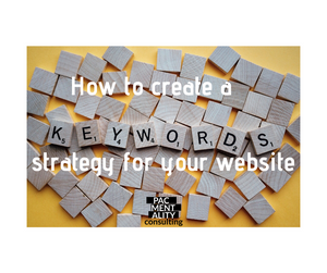 how to create a keyword strategy SEO